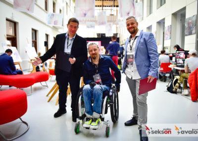 Członkowie zarządu Fundacji Avalon: Krzysztof Dobies, Sebastian Luty, Łukasz Wielgosz.