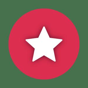 Ikona zgwiazdką